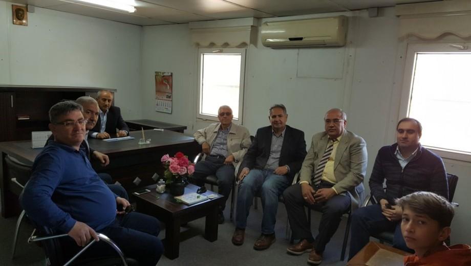 Gaziantep Belkıs-Nizip Pompaj Sulama Sahası ziyaret edildi