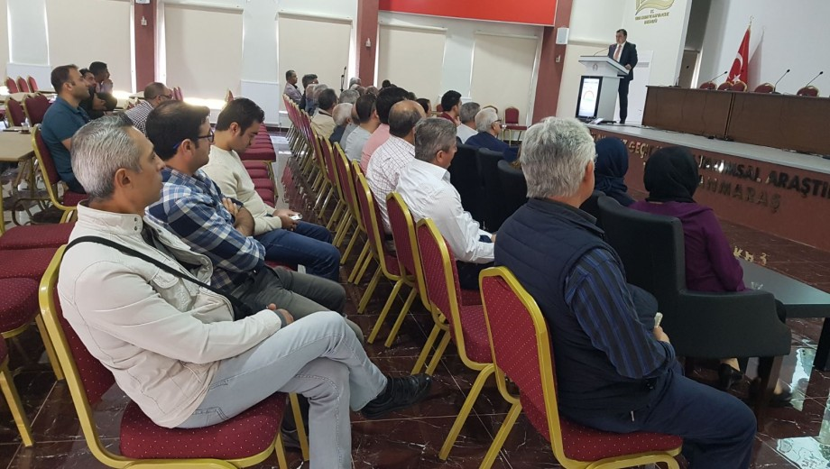 Sulama İşletme Bakım ve Yönetimi konulu Kahramanmaraş-Gaziantep Teknik Gezisi
